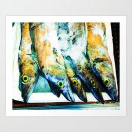 Fish - Chinatown NYC Art Print
