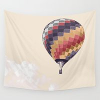 balloon Wall Tapestries featuring Balloon by Dara Denney