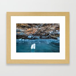 The Ice Grotto Framed Art Print