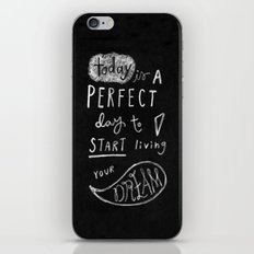 live your dream iPhone & iPod Skin