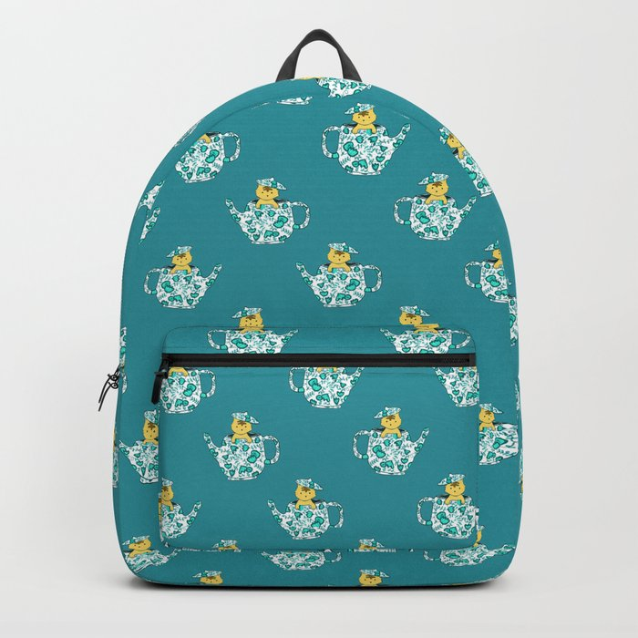 Dinnerware sets - Kitten in a teapot Backpack