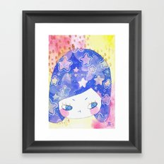 cosmic thoughts Framed Art Print