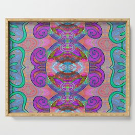 Pineal Art Flourish 1 Serving Tray