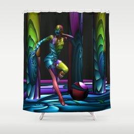 Flee Shower Curtain