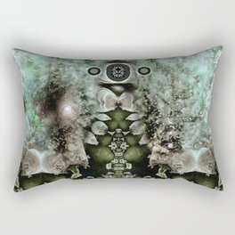 Tardigrade Space Colony Rectangular Pillow