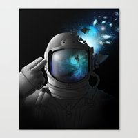 big bang Canvas Prints featuring Big Bang by angrymonk