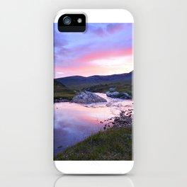 Sunset at Kungsleden iPhone Case