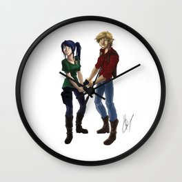 Arsonist's Lullaby Wall Clock