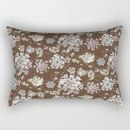 MICHIGAN LACE BROWN WKS Rectangular Pillow