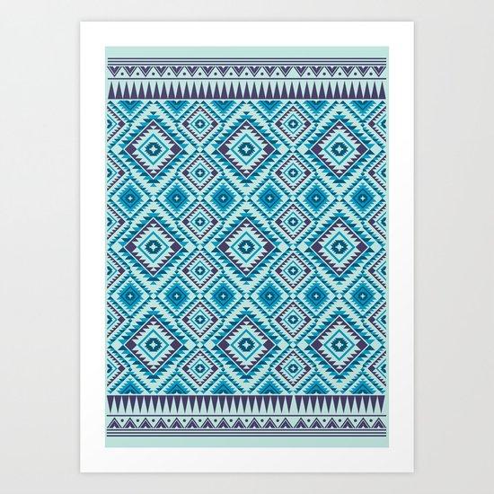 Navajo Six Art Print