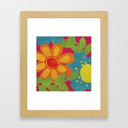 Bold and Bright Framed Art Print