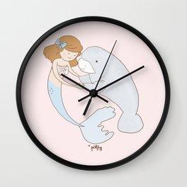 Sofia and Madeline Wall Clock