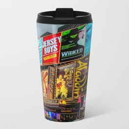 Times Square Metal Travel Mug