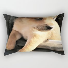 puppy Rectangular Pillow