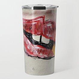 Lick Of Her Cigarette  Travel Mug