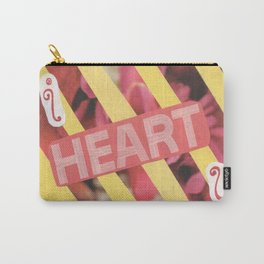 I Heart U. Carry-All Pouch
