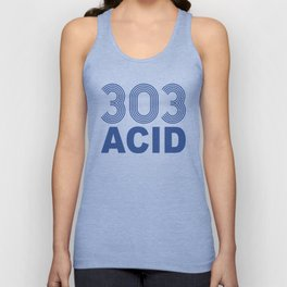 303 Acid Rave Quote Unisex Tank Top