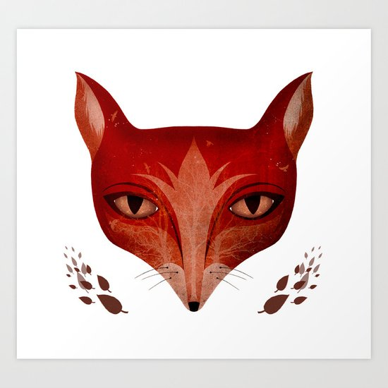 Foxed Art Print