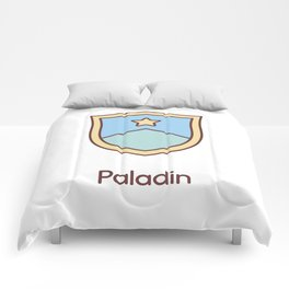 Cute Dungeons and Dragons Paladin class Comforters