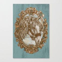 Ornate Horse Portrait Canvas Print
