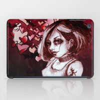 goth iPad Cases featuring The Goth by Z imagination