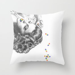 Judy Garland - I'm Always Chasing Rainbows Throw Pillow