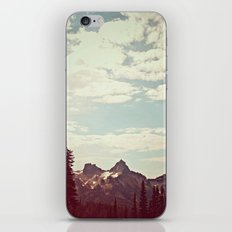 Vintage Mountain Ridge iPhone & iPod Skin