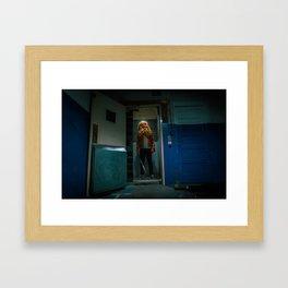2:37 am Framed Art Print
