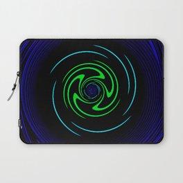 Blue Wheel Laptop Sleeve