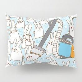 Dust bunnies Pillow Sham