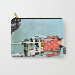 Girl with Snail Carry-All Pouch