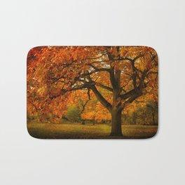 Red Oak Tree Bath Mat