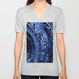 Got Frost Purple Teal by CheyAnne Sexton Unisex V-Neck