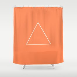 Fire Bright - Minimal FS - by Friztin Shower Curtain