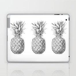 Pineapple, tropical fruit illustration Laptop & iPad Skin