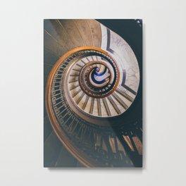 Spirit Spiral Metal Print