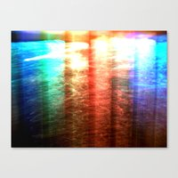 water colour Canvas Prints featuring Water Colour Light by Serena Gailey