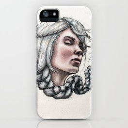 Hairball 02 iPhone Case
