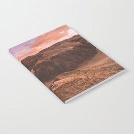 Sunset in Valle De La Luna, Chile Notebook