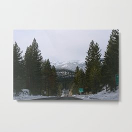 Tahoe Spring Mountains Metal Print