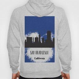 San Francisco skyline silhouette Hoody