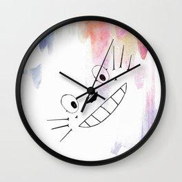 Totoro Love Wall Clock