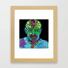Punk Monster Framed Art Print
