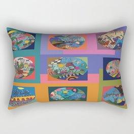 Life colors Rectangular Pillow