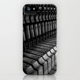 Silent Piano Keys iPhone Case
