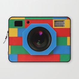 rainbow retro classic vintage camera toys Laptop Sleeve