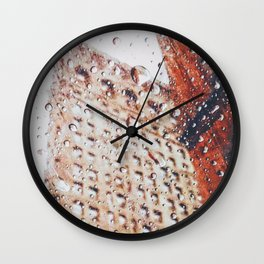 New York City Rain Wall Clock