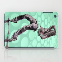 hiphop iPad Cases featuring B GIRL - vanguard style by ARTito
