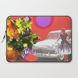 The Unimpressed Tourist (red version) Laptop Sleeve