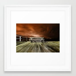 Relax and Enjoy the View Framed Art Print